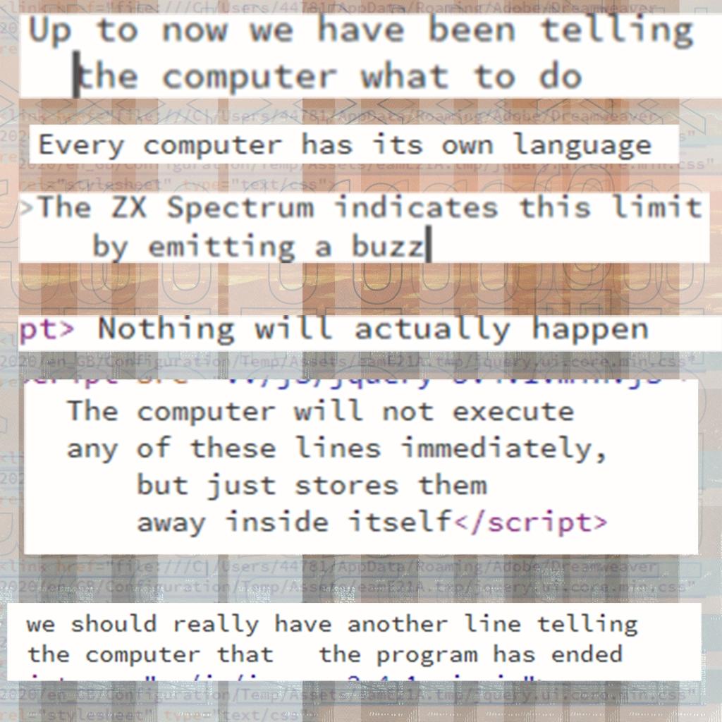 5. Simple programming